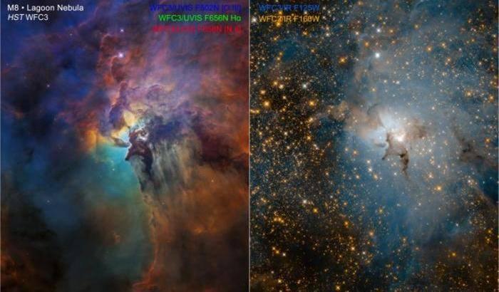 Hubble festeggia in Laguna