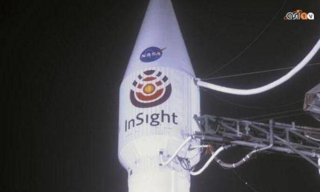 InSight in rotta verso Marte con un pizzico d'Italia