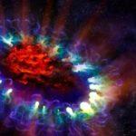 L'insolita fine di una stella massiccia