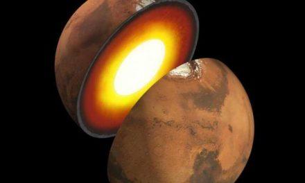 La prima ecografia di Marte