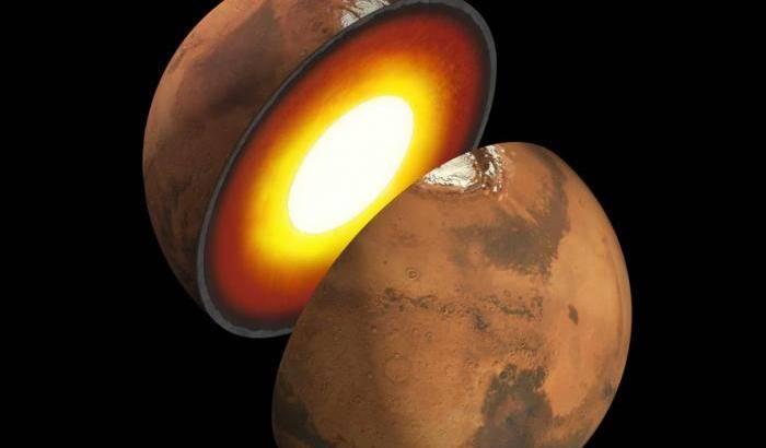 Lo sguardo di InSight nel passato di Marte