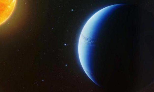 Mondo lontano senza nuvole