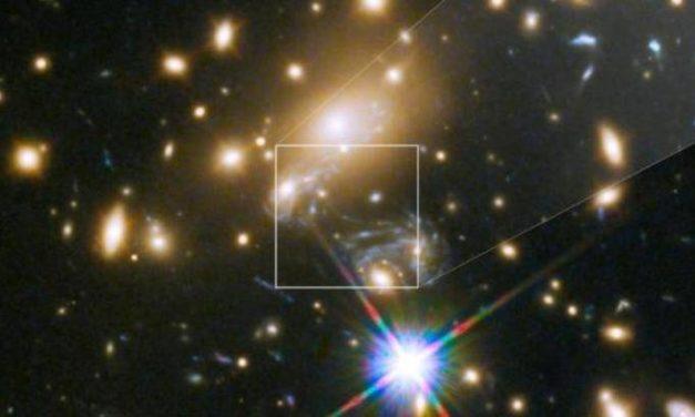 Una stella da record per Hubble
