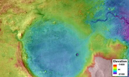 I laghi esondati hanno scavato i canyon su Marte