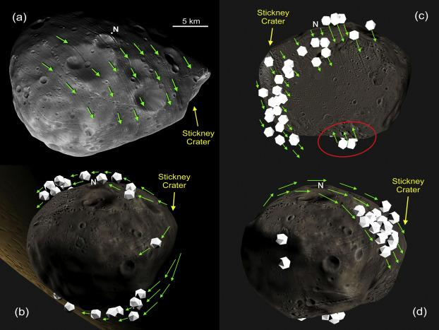 'Rughe' spaziali per Phobos