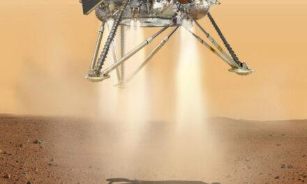 Insight a un passo da Marte