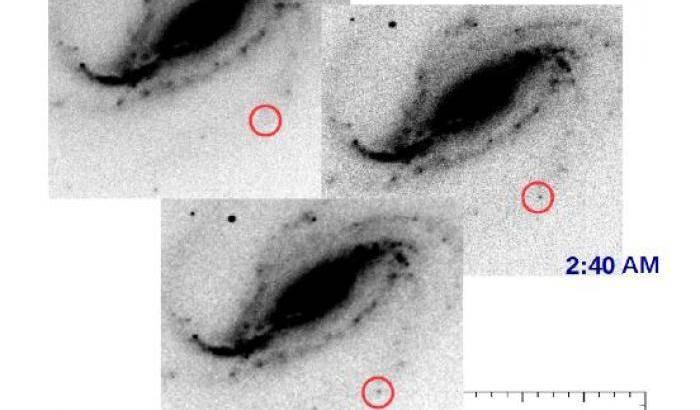 Debutto di una supernova sotto i riflettori