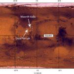 Su Marte dov'era l'acqua