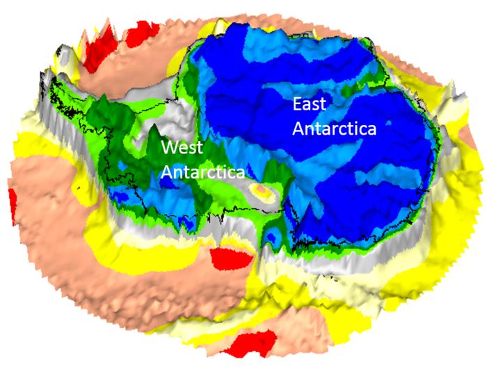 Antiche terre celate nel cuore dell'Antartide