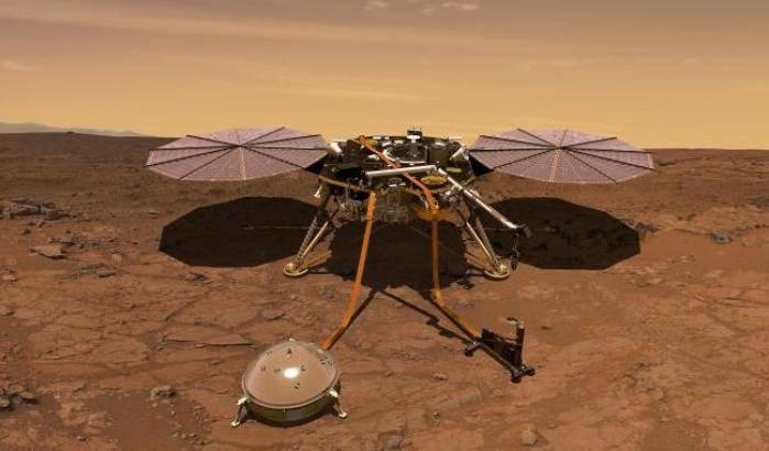 Marte, lo sguardo unico di InSight