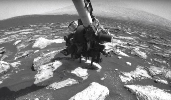 Nuova tecnica di scavo per Curiosity
