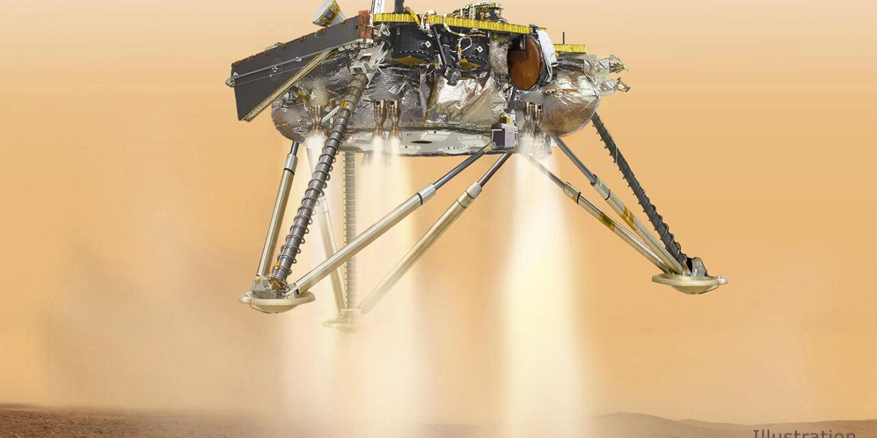 Insight, Marte sempre più vicino