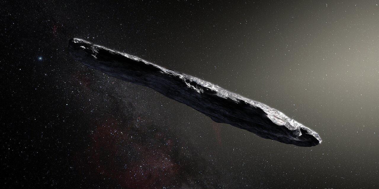 Oumuamua, nuovo identikit della cometa extrasolare