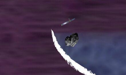 Un bow shock neonato per Rosetta