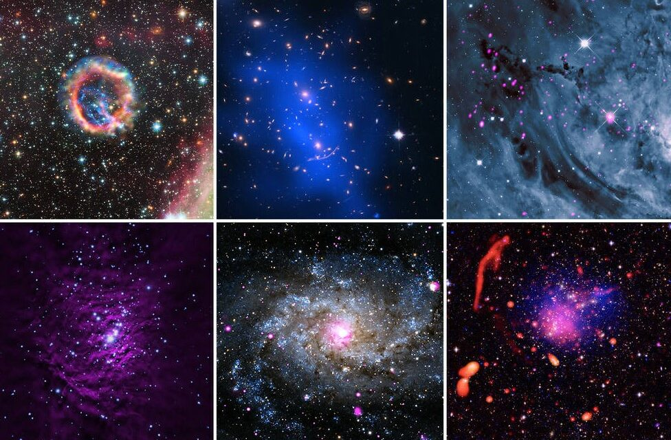 Chandra, auguri 'galattici'