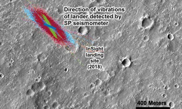 Marte, il vento echeggia tra le polveri