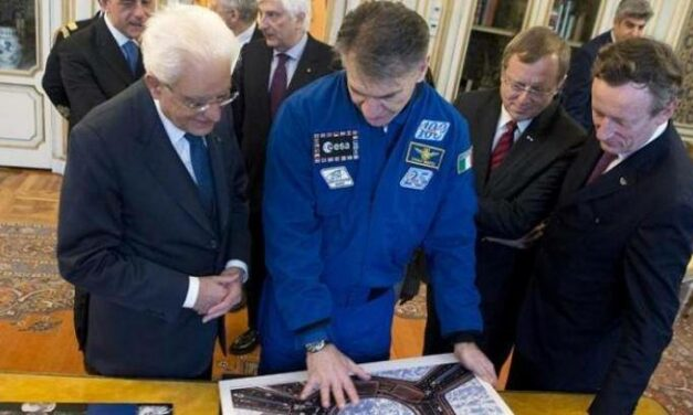 Paolo Nespoli e Roberto Battiston al Quirinale
