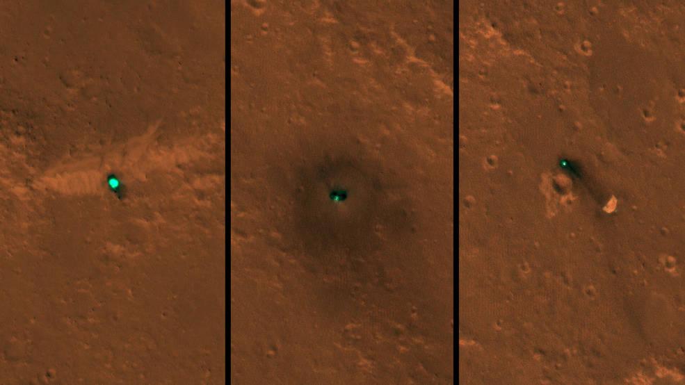 InSight, ritratto su Marte