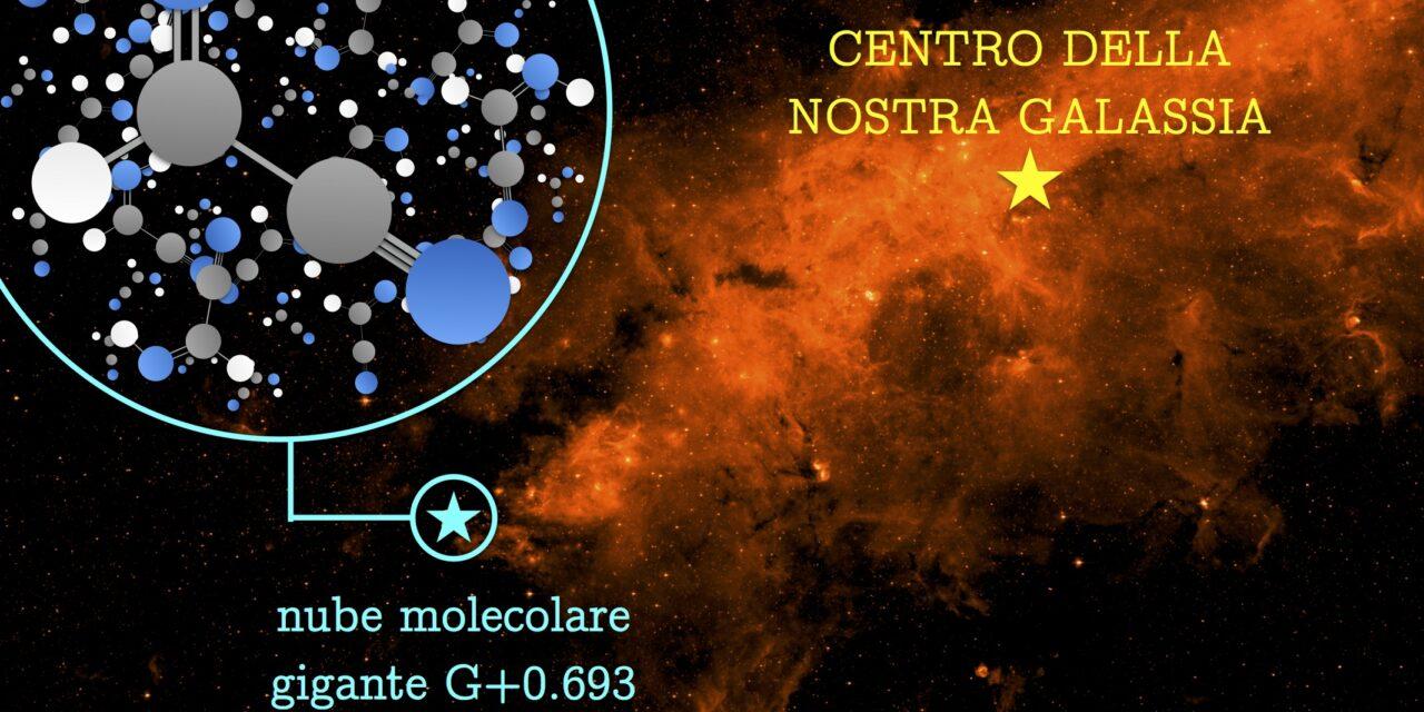 Dna spaziale: trovato il pezzo mancante della Cianometanimina