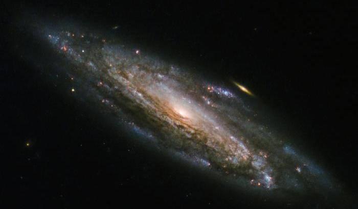 'Fuochi artificiali' per Hubble