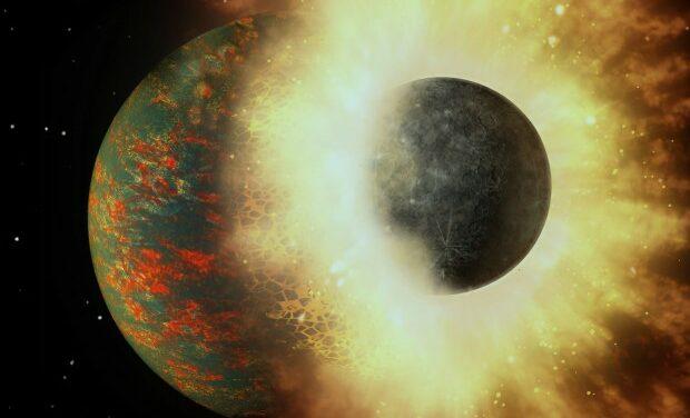 La Luna e la vita sulla Terra, figlie di una collisione planetaria