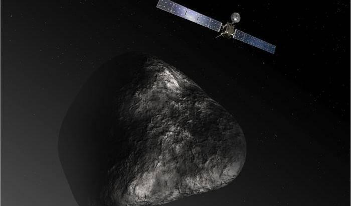 67P e i 'semi di vita' nelle comete