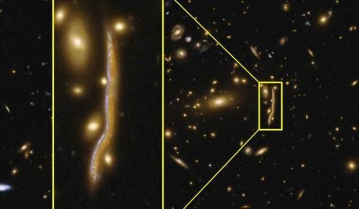 Anatomia di un 'serpente' cosmico