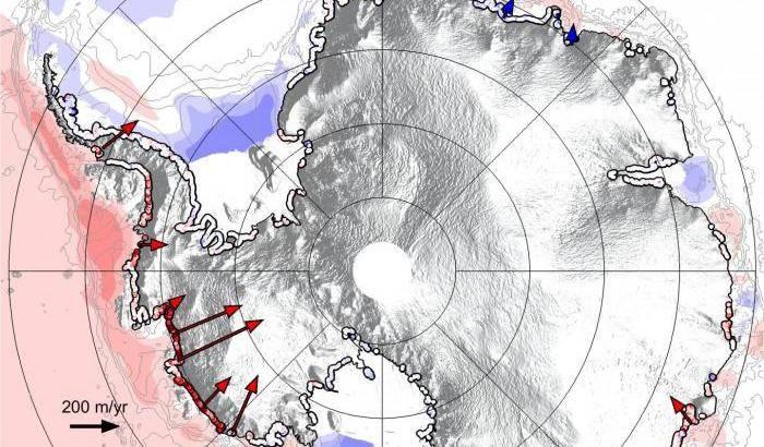Antartide in primo piano con Cryosat