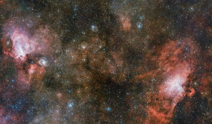 Aquila, Omega e Sharpless 2-55: la tripletta di Vst