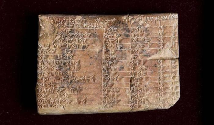 Babilonesi, ecco i veri padri della trigonometria