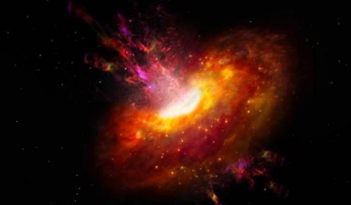 Baby boom stellare nei quasar ultra luminosi