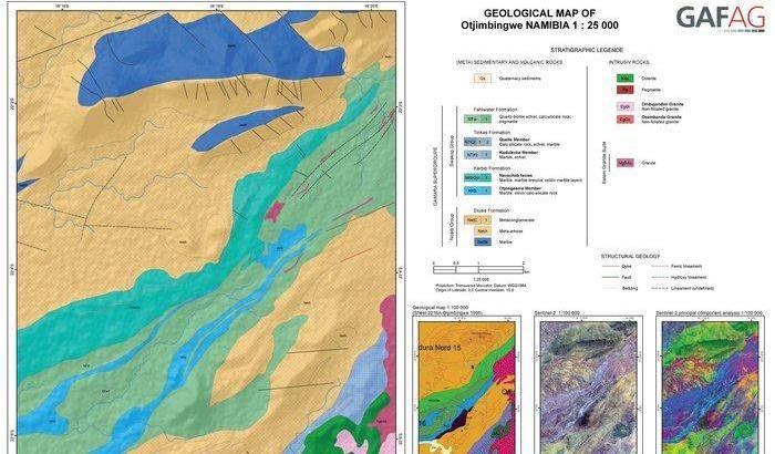 Carte geologiche spaziali