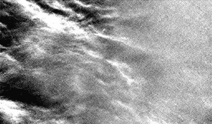 Cielo nuvoloso sul Pianeta rosso
