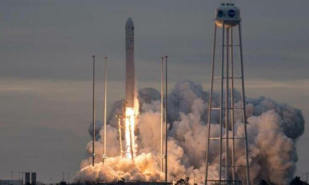 Cygnus in volo verso la Stazione Spaziale