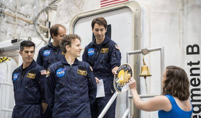 Hera, quarantacinque giorni da astronauta