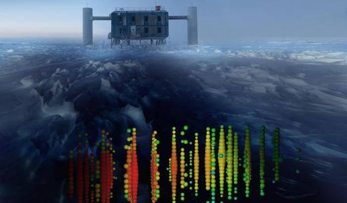 IceCube, così la Terra 'blocca' i neutrini