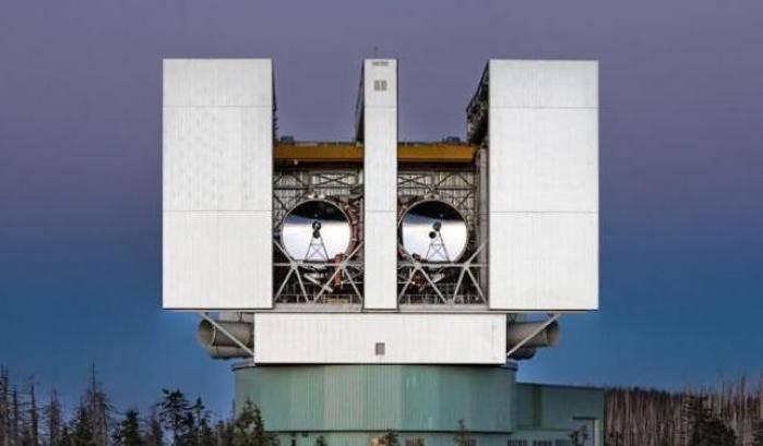 Il Large Binocular Telescope tiene d'occhio Osiris-Rex
