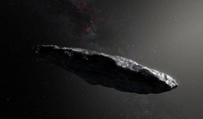 Il misterioso visitatore interstellare