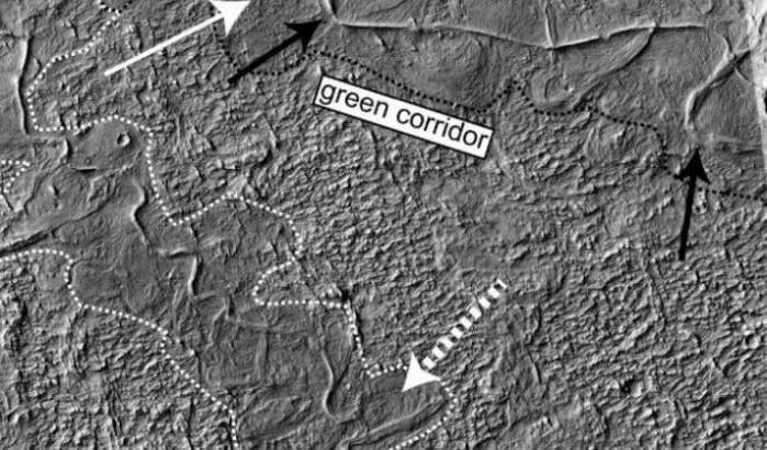 Il passato di Marte nei sedimenti