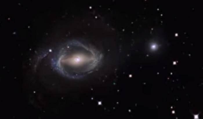 Interazioni galattiche per Hubble
