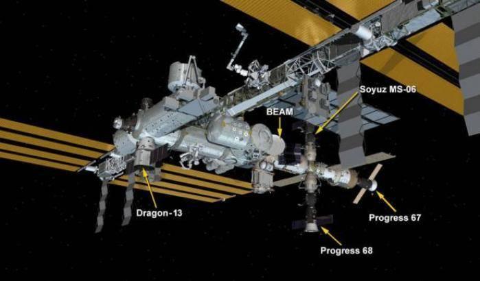 Iss, dopo Dragon partita l'Expedition 54