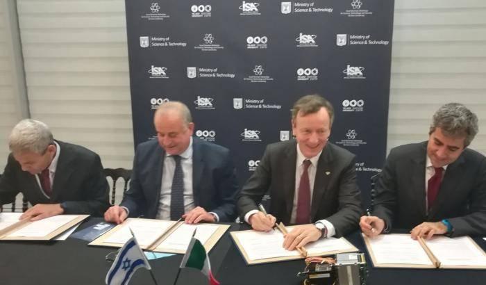 Italia-Israele: al via il laboratorio sulle attività spaziali