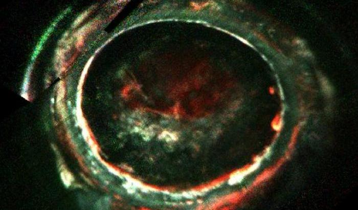 Juno osserva le aurore di Giove
