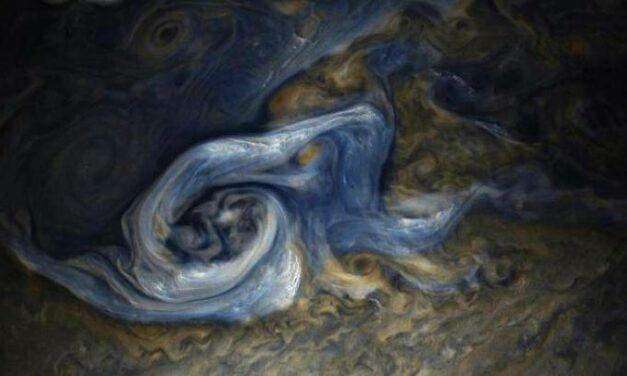 Juno, tra le braccia del ciclone