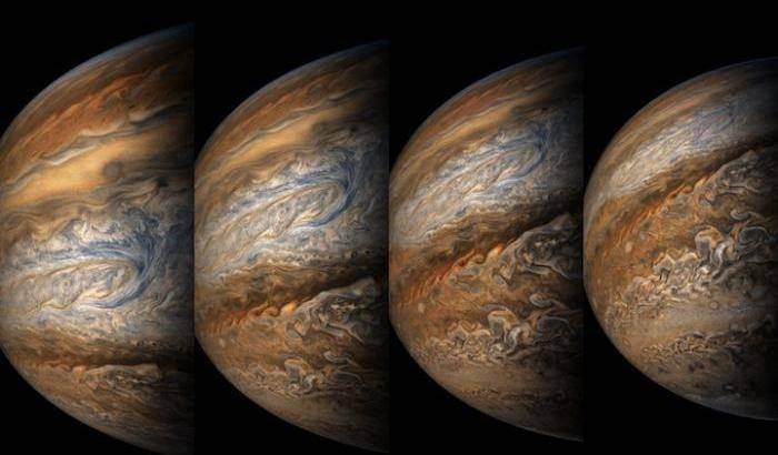 L'ottava danza di Juno attorno a Giove