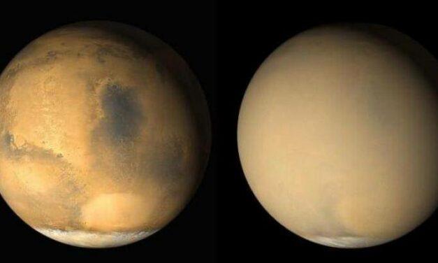 Marte, atmosfera 'movimentata'