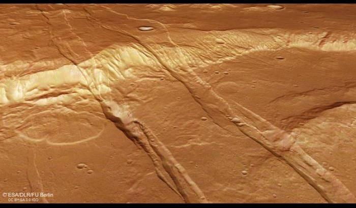 Marte, le cicatrici del passato