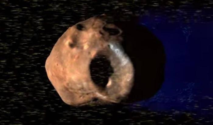 Marte, lune 'elettrizzate'