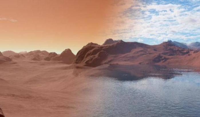 Marte non è asciutto come sembra