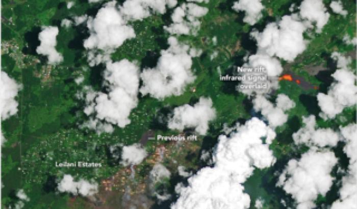 NASA per Kilauea: un aiuto dall'alto